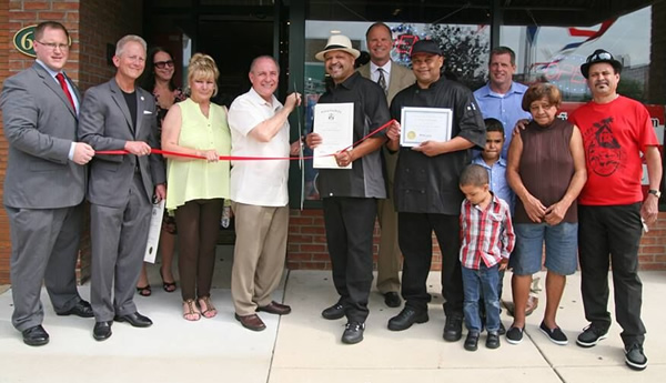 Business grand opening in Downtown Vineland NJ